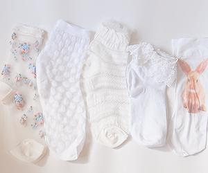 cute, pale, and socks image