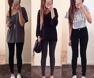clothes, fashion, and school outfit image