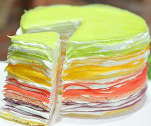 cake, colorful, and colors image