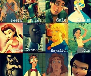 disney and hunger games image