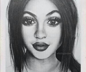 lips, drawing, and pretty image