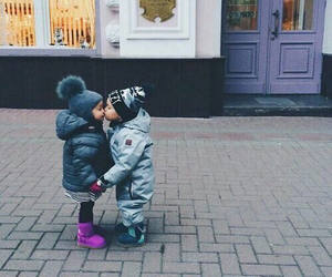 love, kiss, and cute image