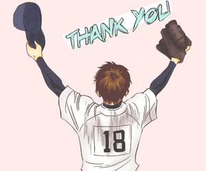 ace of diamond, eijun sawamura, and daiya no a image