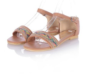 cute sandals, decent sandals, and affordable women's sandal image