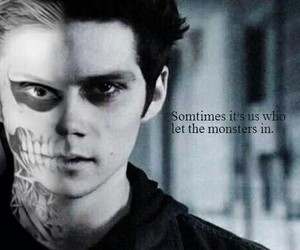 teen wolf, american horror story, and dylan o'brien image