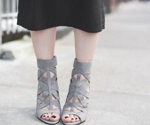black, fashion, and gray image
