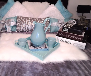 chanel, blue, and decor image