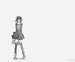 knight, manga, and monochrome image