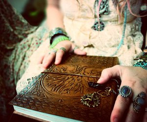 book and rings image