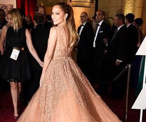 dress, Jennifer Lopez, and oscar image