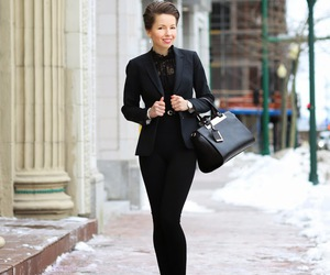 black, style, and ootd image