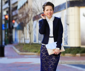 style, ootd, and business professional image