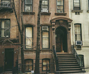 vintage, house, and city image