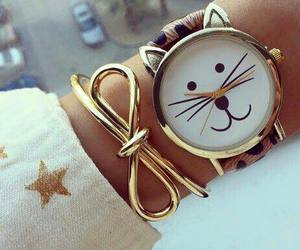 bracelet, cat, and kitty image