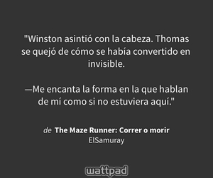 thomas, the maze runner, and correr o morir image