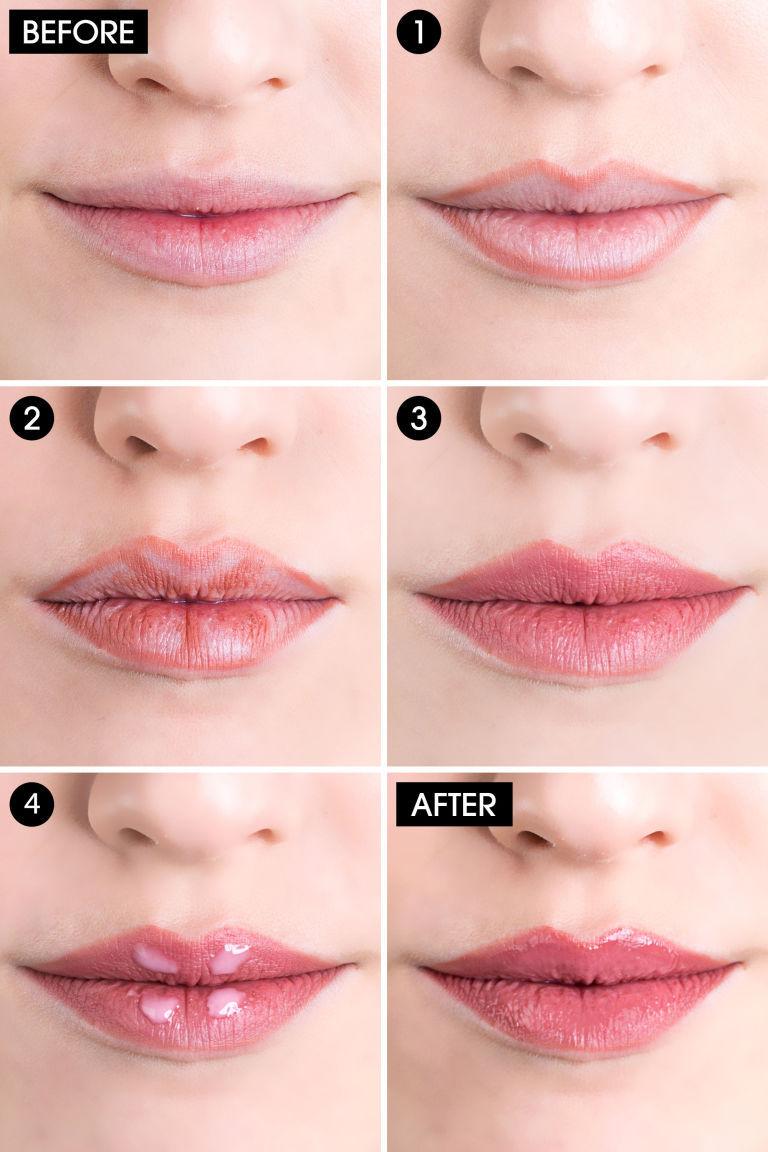 Makeup Tips For Lips Fuller