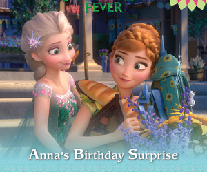 anna, disney, and fever image