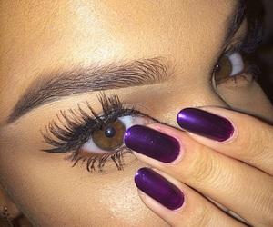 nails, eyebrows, and eyes image