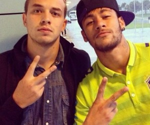 friend, neymar, and njr image