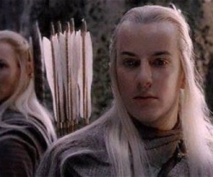 lord of the rings, elves, and haldir image