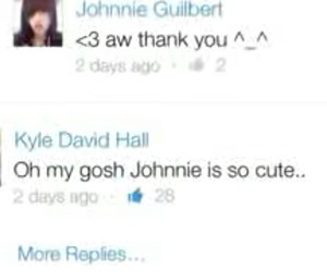youtubers, johnnie guilbert, and kyle david hall image