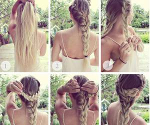 cabelos, hair, and hairstyle image