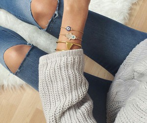 bracelets, fashion, and accessories image