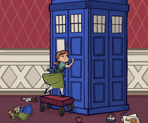 doctor who, frozen, and anna image