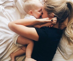 baby, love, and family image