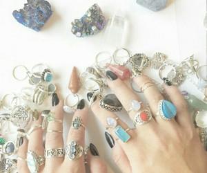 boho, gypsy, and rings image