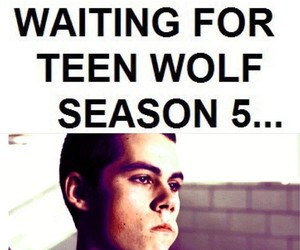 funny, tv series, and teen wolf image