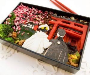 bento, food, and japan image