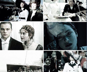 jack dawson, kate winslet, and titanic image