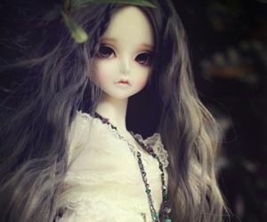 bjd, black, and doll image