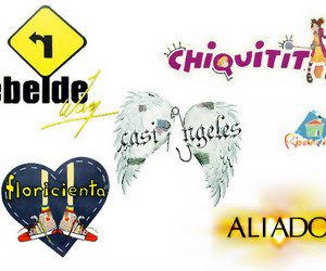 family, rebelde way, and casi angeles image