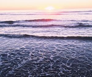beach, beautiful, and ocean image