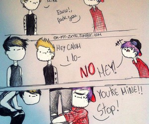 5sos, luke hemmings, and muke image