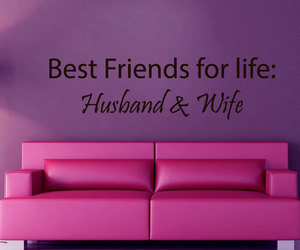 best friends, interior design, and love quote image