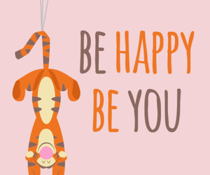 happy and tiger image