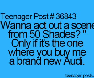 fifty shades of grey and teenagerpost image