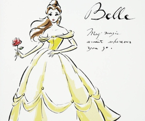 belle, disegni, and disney image