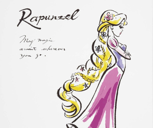 disegni, disney, and rapunzel image