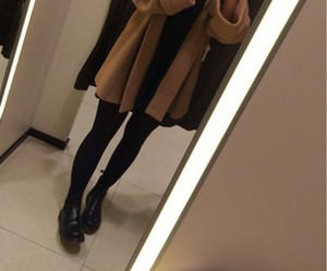 boot, girl, and style image