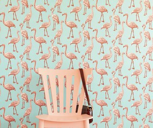 pink and flamingo image