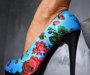 flowers, blue, and fashion image