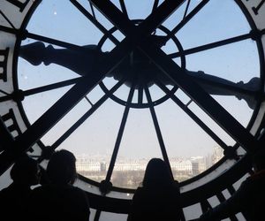 clock, paris, and france image