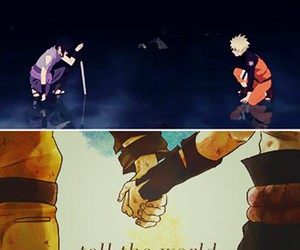 friend, naruto, and sasuke image