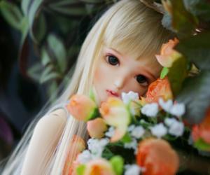 adorable, bjd, and doll image