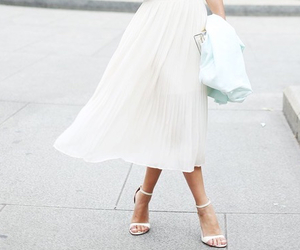 fashion, white, and skirt image