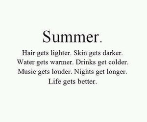 summer, life, and quotes image